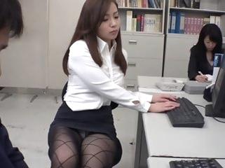 public stockings/pansuto Non-native Japanese incise Remi Sasaki, Ren Ayase, Miyuki Ojima, Hikaru Shiina roughly Hottest secretary, coupler JAV coupling