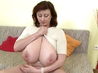 matures amateur Gorgeous mature mother with huge tits and perfect mature