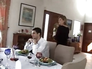cuckold milfs Cheating french wife and husband's co-workers - Orphea Belle