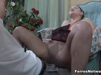 mature fetish MaturesAndPantyhose Video: Emilia increased by Benjamin