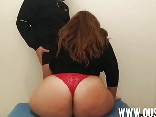 bbw blonde Son fucks his mother's huge ass