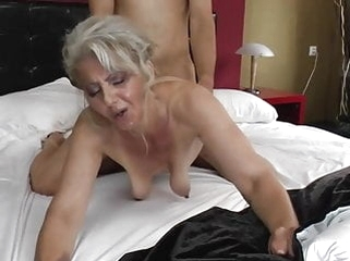 mature blonde Saggy Hairy Old Mature