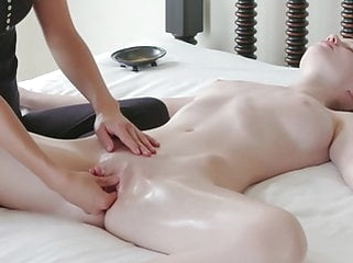 fingering babe Sensual Orgasm Massage for this perfect Teen