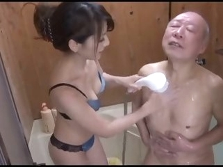 asian shower Fagged Asian, Blowjob matured membrane