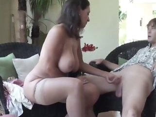 hairy unsorted Stepmom Stepson Incident 86 (Mommy Sexual relations Education)
