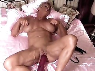 masturbation big boobs Mature Amazon needs a huge dildo