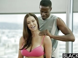 blowjobs black and ebony BLACKED Fitness Babe Kendra Lust Loves Huge Black Cock