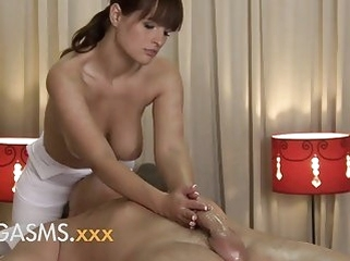 big boobs brunettes Orgasms HD Sexy massage from cute busty brunette woman