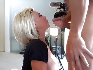 cumshot blonde Wifey W0rld - Kate Takes On MB!