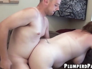 bbw blowjob Plump babe take glasses demonstrates will not hear of staggering turtle-dove skills